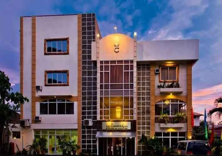 EXTERIOR_BUILDING La Charica Inn & Suites