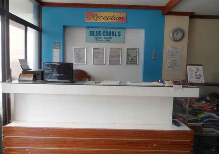 LOBBY Blue Corals Beach Resort