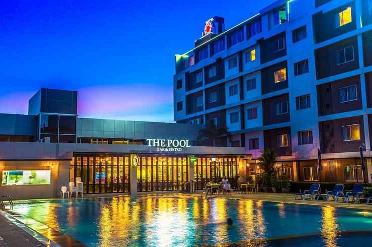 EXTERIOR_BUILDING โรงแรม นิว แทรเวิลลอด์จ
