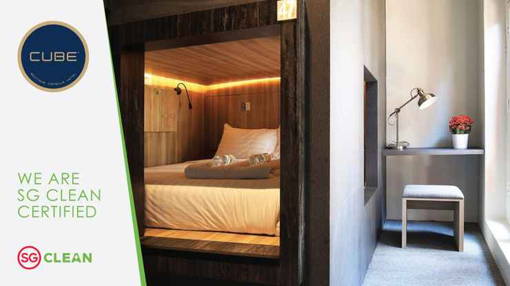 BEDROOM CUBE Boutique Capsule Hotel @ Chinatown