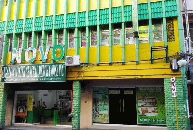 EXTERIOR_BUILDING Meaco Hotel Legazpi