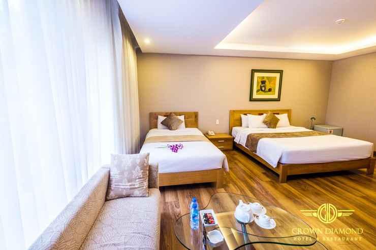 BEDROOM Khách sạn Crown Diamond