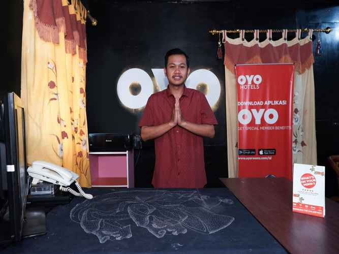 LOBBY OYO 598 Udan Mas Guesthouse& Gallery