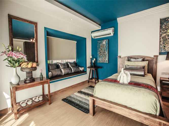 BEDROOM E-Outfitting Boutique Hotel Chiang Mai - 清迈首驿精品酒店