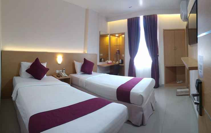 Grand Gallery Hotel Bukittinggi Bukittinggi - Deluxe Twin Bed