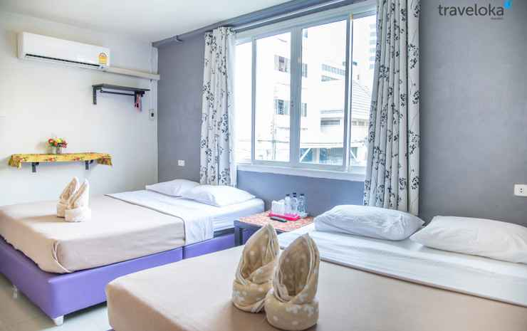 SidaRe bed and breakfast Bangkok - Quadruple Room (Private Bathroom)