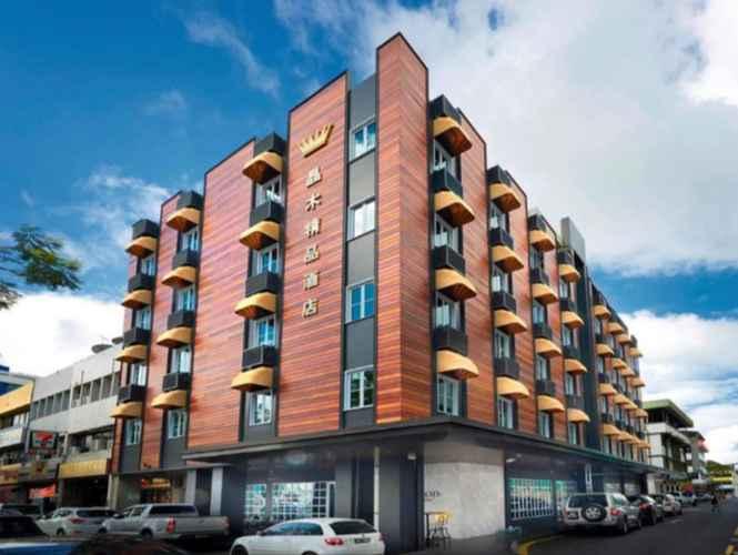 EXTERIOR_BUILDING Kingwood Boutique Hotel Miri