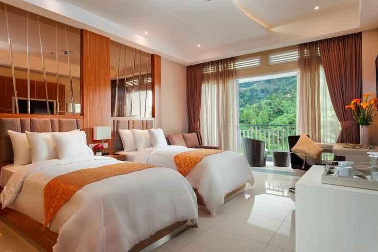BEDROOM Le Eminence Puncak Hotel Convention & Resort