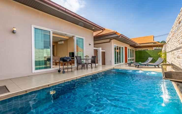 The Ville Jomtien Pool Villa (Newly Renovated November 2019) Chonburi - Double Pool 5 Bedroom 4 Bathroom RO