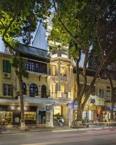 EXTERIOR_BUILDING Khách sạn Silk Path Boutique Hanoi