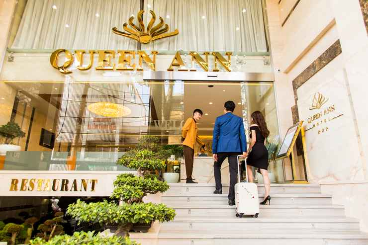 EXTERIOR_BUILDING Khách sạn Queen Ann