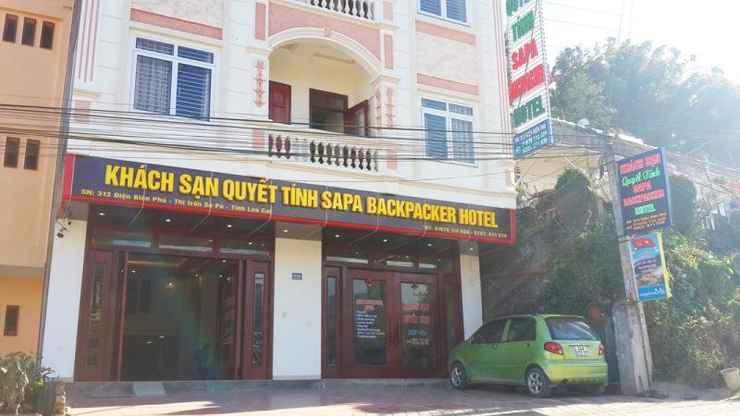 EXTERIOR_BUILDING Khách sạn Quyết Tính Sapa Backpacker