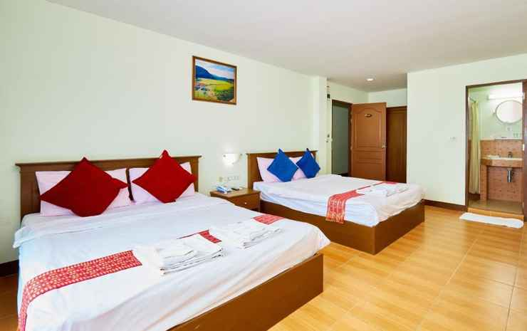 Blue House Beach Chonburi - Family Room with Sea View