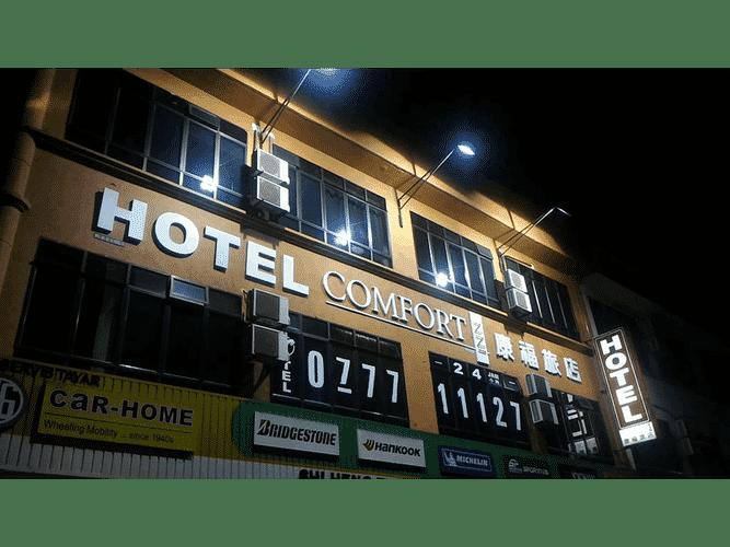 EXTERIOR_BUILDING Hotel Comfort Inn