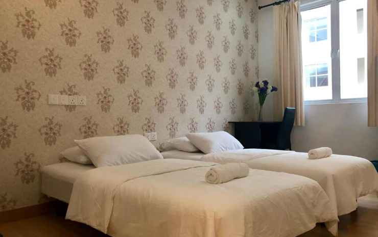 Island Hostel Penang - Twin Bed with Shared Bathroom - Room Only FC