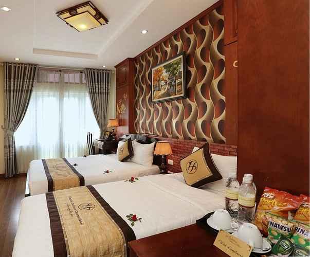 BEDROOM Khách sạn Hanoi Golden Charm