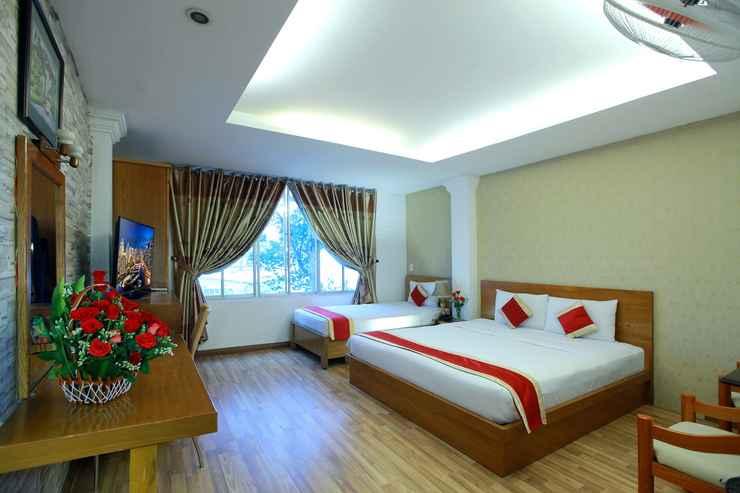 BEDROOM Khách sạn Lucky Star 91 Sương Nguyệt Ánh