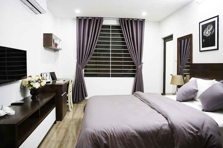 BEDROOM V-HOUSE 1 Serviced Apartment