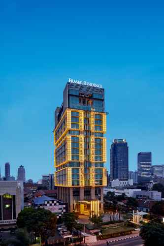 EXTERIOR_BUILDING Fraser Residence Menteng Jakarta