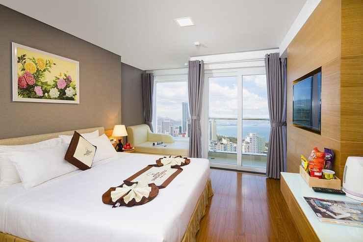 BEDROOM Khách sạn Dendro Gold Nha Trang