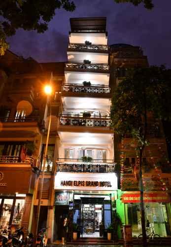 EXTERIOR_BUILDING Khách sạn Asia Hanoi Elpis Grand