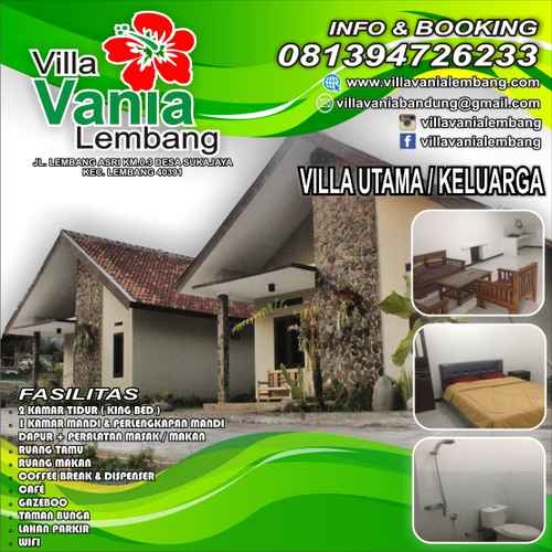 EXTERIOR_BUILDING Villa Vania Lembang