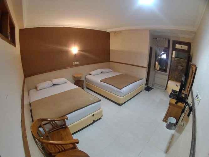 BEDROOM Cozy Room near Keraton Jogja at Musafira
