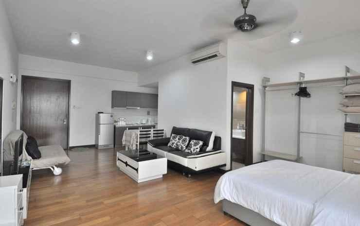 Best KL City View at Regalia Residence Kuala Lumpur - Family Studio (Non Smoking) for 5 pax