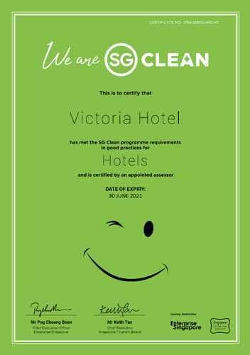 HYGIENE_FACILITY Victoria Hotel