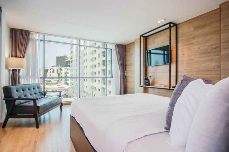 BEDROOM Chill Suites Saigon