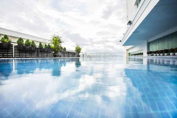 SWIMMING_POOL Vinh Trung Plaza Apartments and Hotel