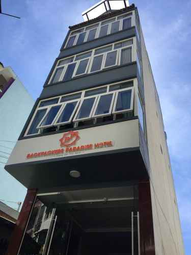 EXTERIOR_BUILDING Khách sạn Backpacker Paradise