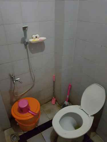 BATHROOM Affordable Room near Airport at 488 Home