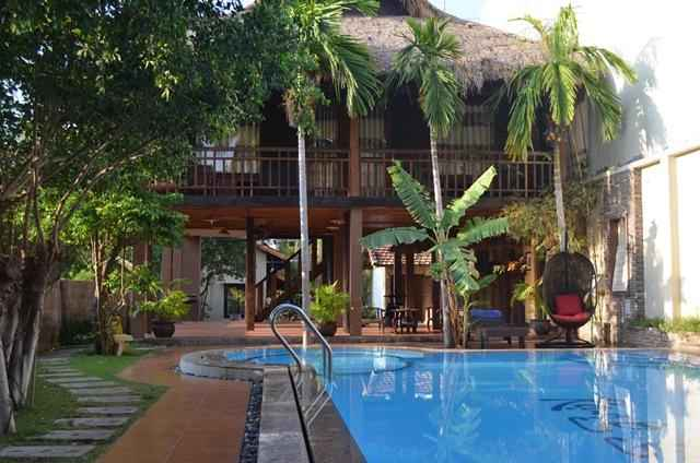 SWIMMING_POOL Rạng Garden Hill Side Resort