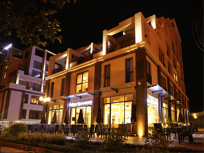 EXTERIOR_BUILDING Khách sạn Dragon Sea