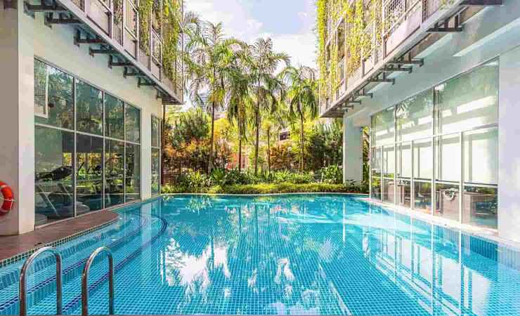 SWIMMING_POOL Thanksgiving Serviced Residence