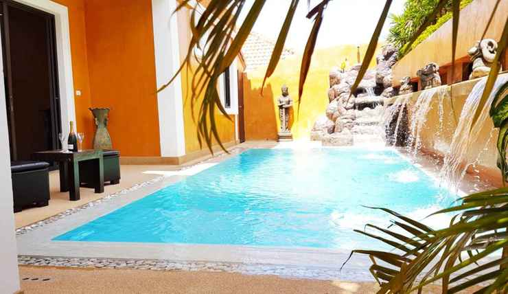 SWIMMING_POOL HIDE LAND - The Luxurious Tropical Villa 5 Bedrooms