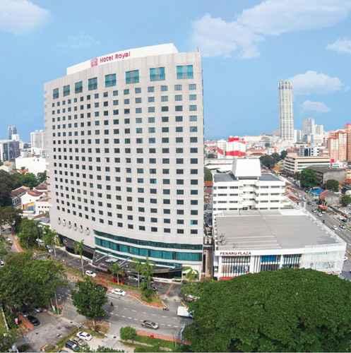 EXTERIOR_BUILDING Hotel Royal Penang