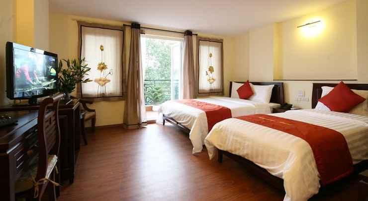 BEDROOM Hanoi Charming 2 Hotel