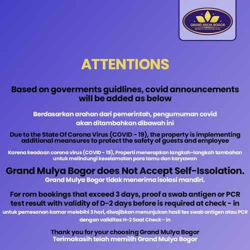 BEDROOM Grand Mulya Bogor