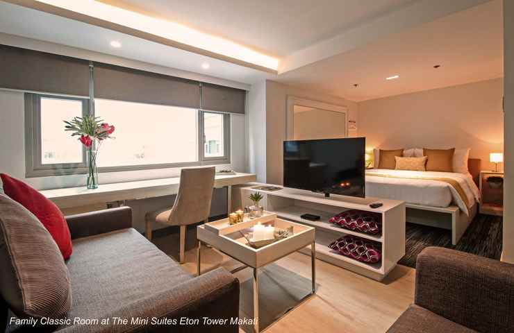 BEDROOM The Mini Suites Eton Tower Makati