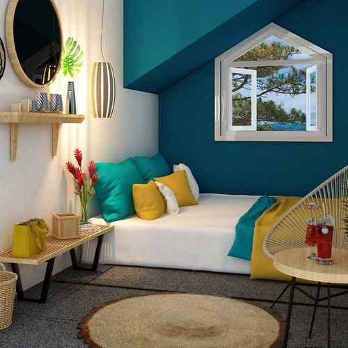 BEDROOM Bookaholic Beach Hostel
