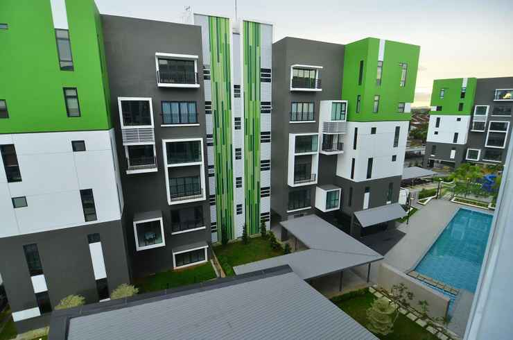 EXTERIOR_BUILDING Concept Homestay The Cube @ Third Miles 4
