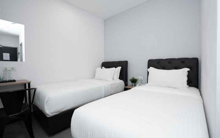 B Lot Hotel Kuala Lumpur - Deluxe Twin Room (no window)