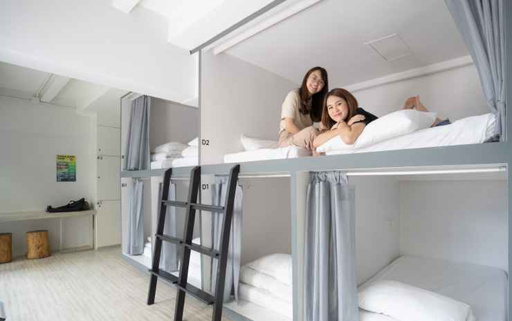 3Howw Hostel Sukhumvit 21 Bangkok - Female couple capsule Room