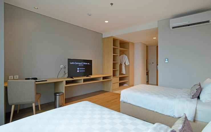 Midtown Residence Marvell City Surabaya Surabaya - Studio Splendid Twin Room Only