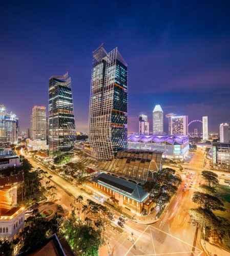 EXTERIOR_BUILDING JW Marriott Hotel Singapore South Beach