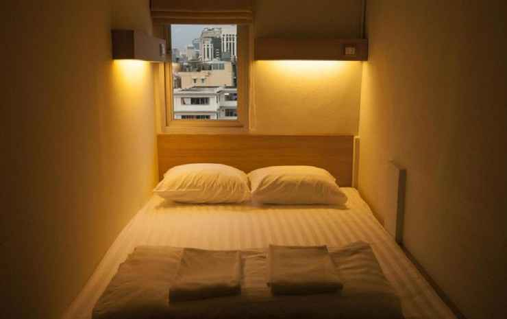 Micro Hostel Bangkok - Double Room with shared bathroom
