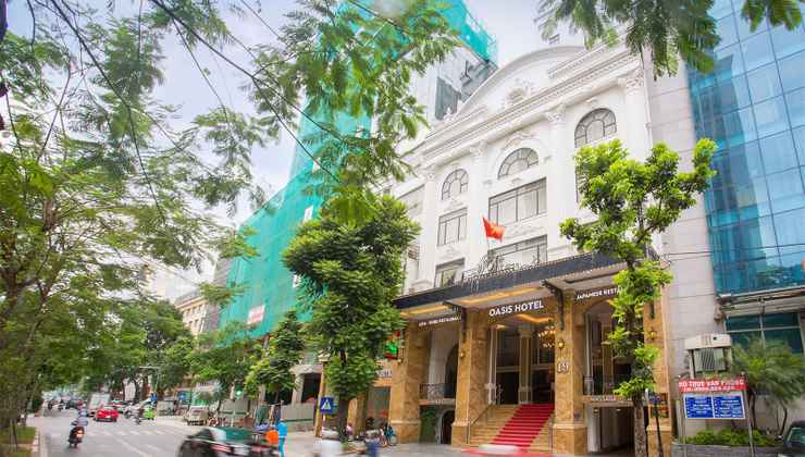 EXTERIOR_BUILDING Khách sạn Oasis Hà Nội