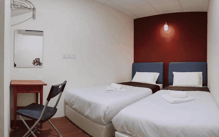 Urban Bird Hotel Kuala Lumpur - Standard Twin Room